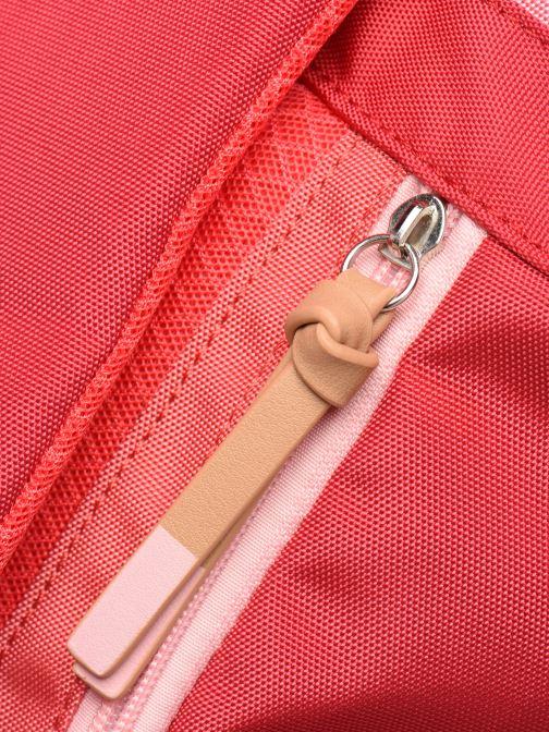 Rucksäcke Esprit Izumi backpack rot ansicht von links