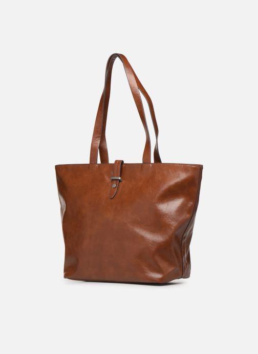 Handtaschen Esprit Tavi shopper Bags braun schuhe getragen