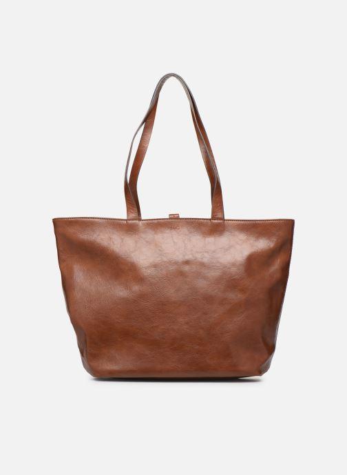 Handtaschen Esprit Tavi shopper Bags braun ansicht von vorne