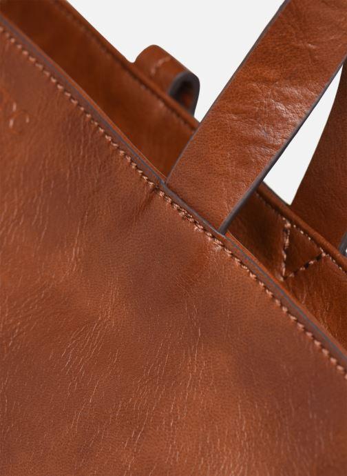 Handtaschen Esprit Tavi shopper Bags braun ansicht von links