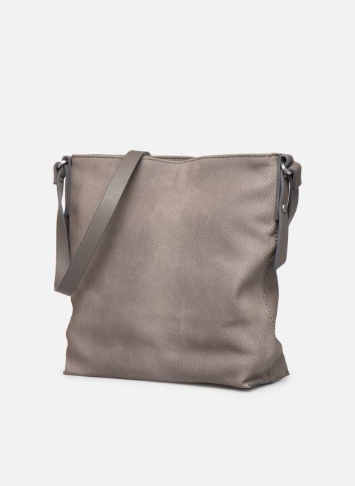 Borse Esprit Tasha shldbag Grigio modello indossato