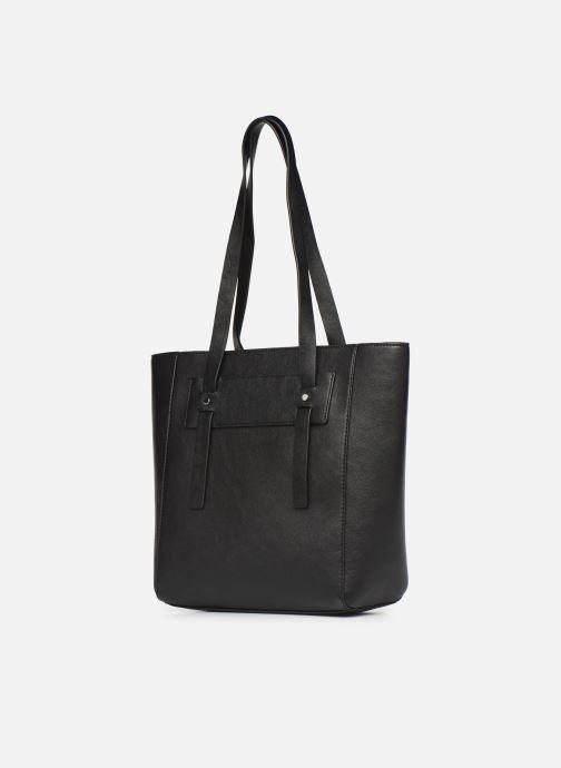 Handbags Esprit Terry shopper Black model view