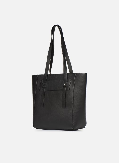 Handbags Esprit Terry shopper Black model view