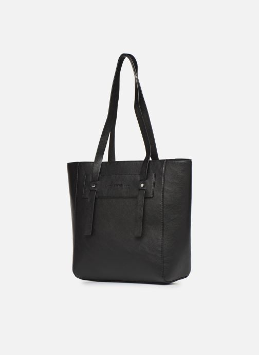 Handbags Esprit Terry shopper Black view from the right
