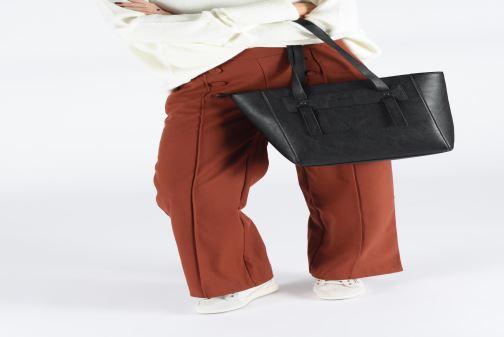 Sacs à main Esprit Terry shopper Noir vue bas / vue portée sac