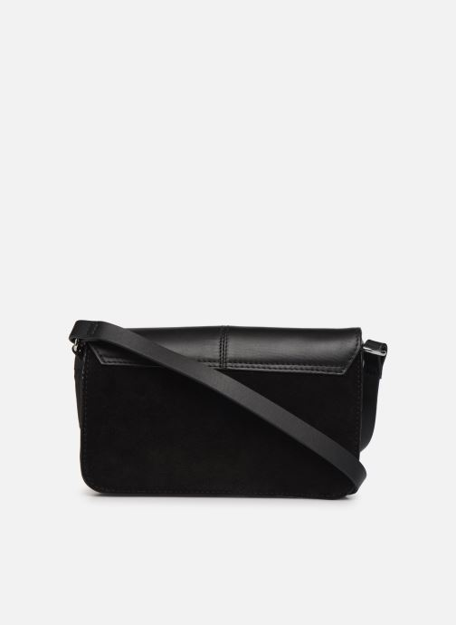 Handbags Esprit Uma Leather shoulderbag Black front view