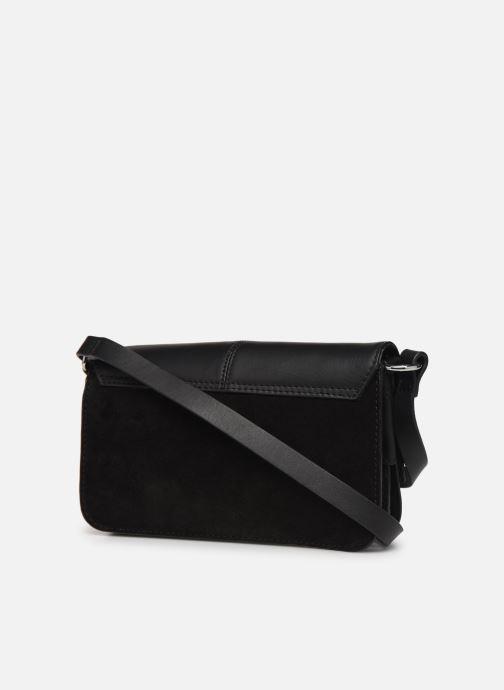 Handtassen Esprit Uma Leather shoulderbag Zwart rechts