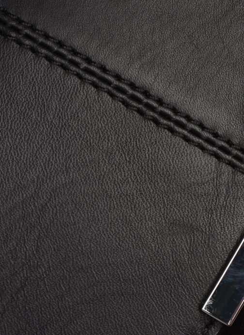 Handtassen Esprit Uma Leather shoulderbag Zwart links