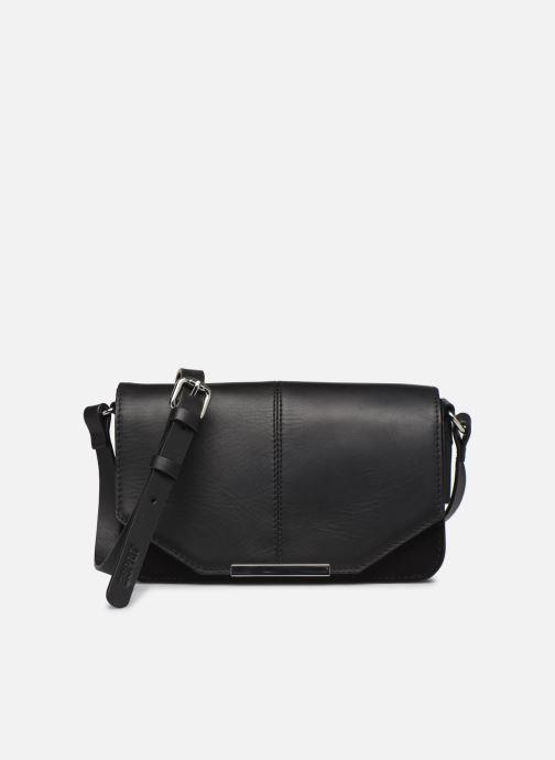Handtassen Esprit Uma Leather shoulderbag Zwart detail