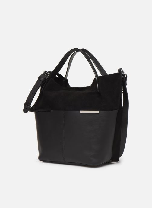 Bolsos de mano Esprit Uma Leather city bag Negro vista del modelo