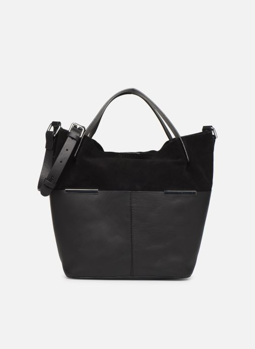 Bolsos de mano Esprit Uma Leather city bag Negro vista de detalle / par