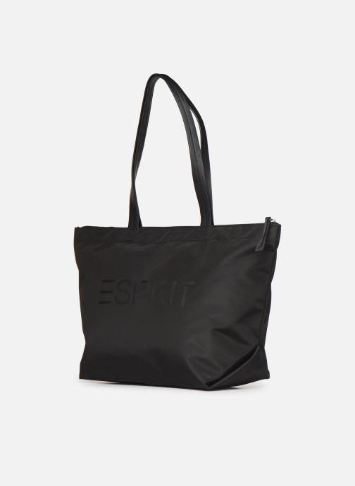 Handtassen Esprit Cleo shopper Zwart model