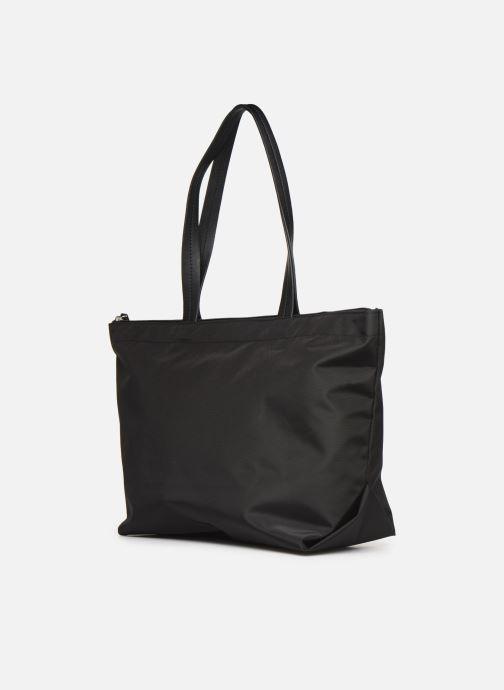Handtassen Esprit Cleo shopper Zwart rechts