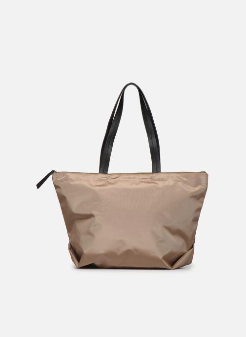 Handtassen Esprit Cleo shopper Beige voorkant