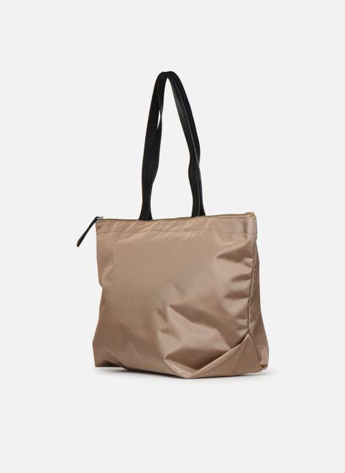 Handtassen Esprit Cleo shopper Beige rechts