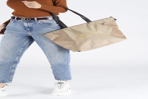 Handtassen Esprit Cleo shopper Beige onder