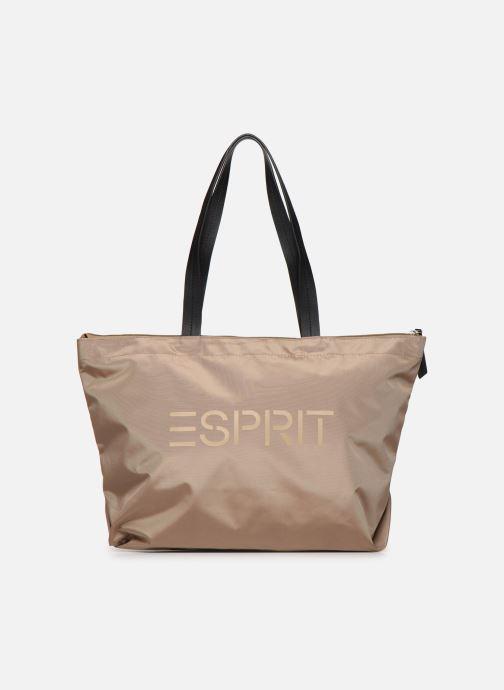 Handtassen Esprit Cleo shopper Beige detail