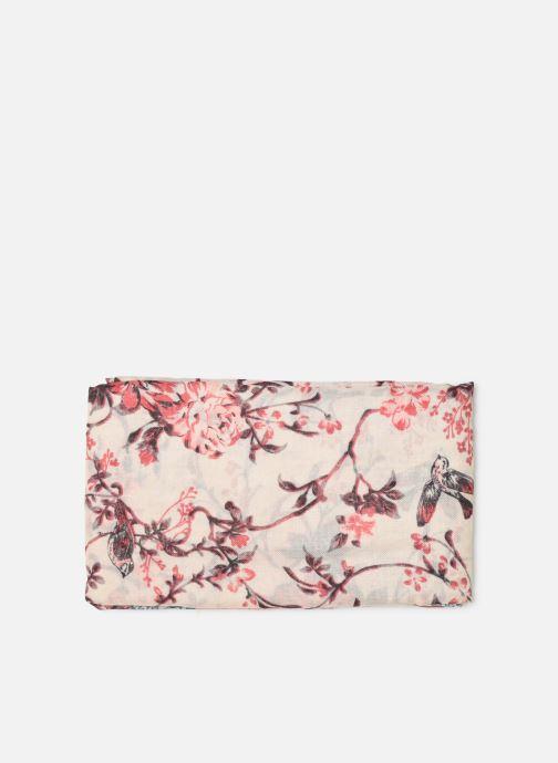 Echarpes et Foulards Esprit Romant Flower Scarf Rose vue portées chaussures