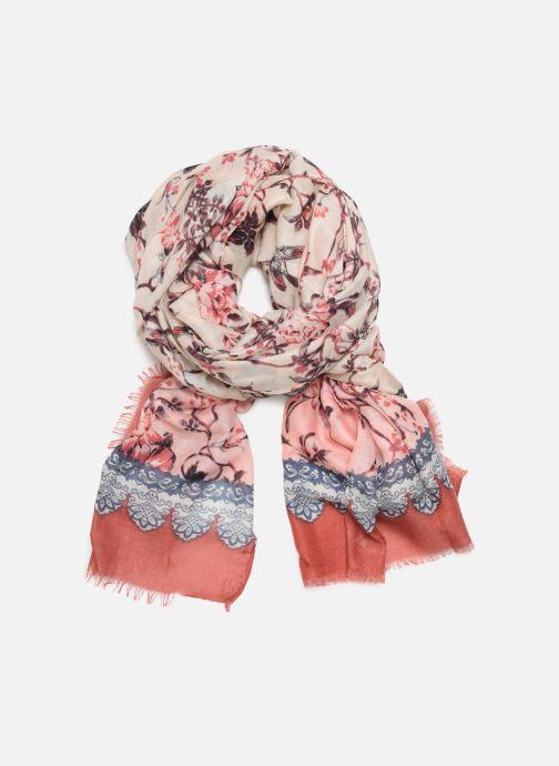 Echarpes et Foulards Esprit Romant Flower Scarf Rose vue détail/paire
