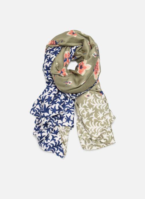 Sjaal Esprit PrintTwist Square Scarf Groen detail
