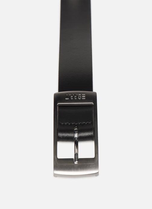 Cinture Esprit Xoctavia Belts leather Nero modello indossato
