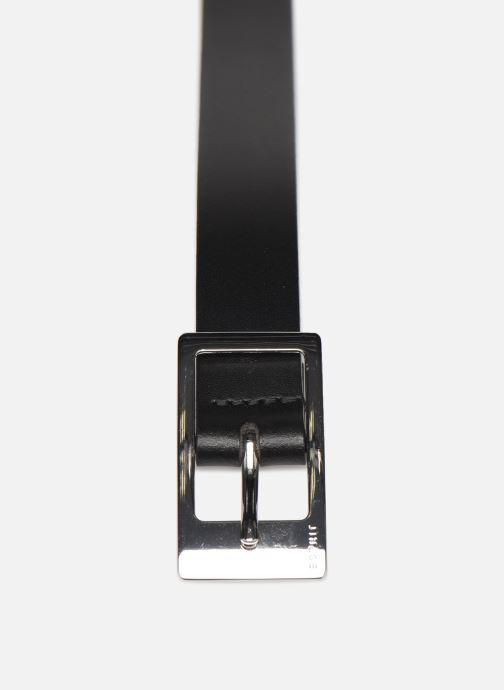 Ceintures Esprit Gamila Belts leather Noir vue portées chaussures