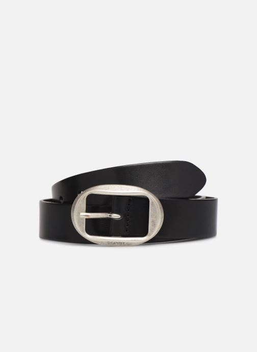 Cinturones Esprit Greta belt Belts leather Negro vista de detalle / par