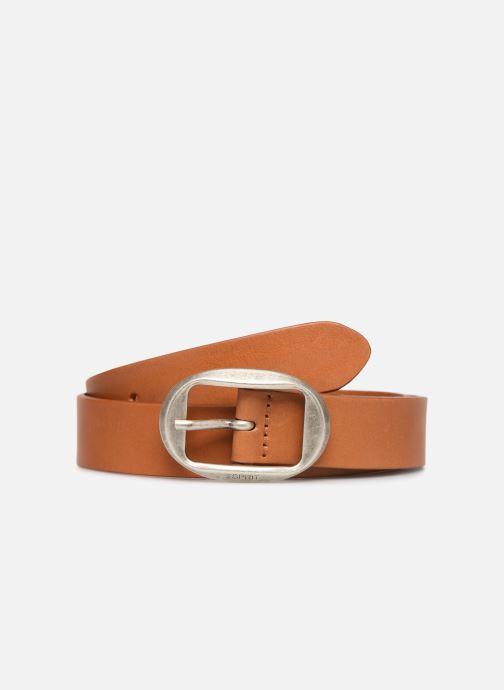 Cinturones Esprit Greta belt Belts leather Marrón vista de detalle / par
