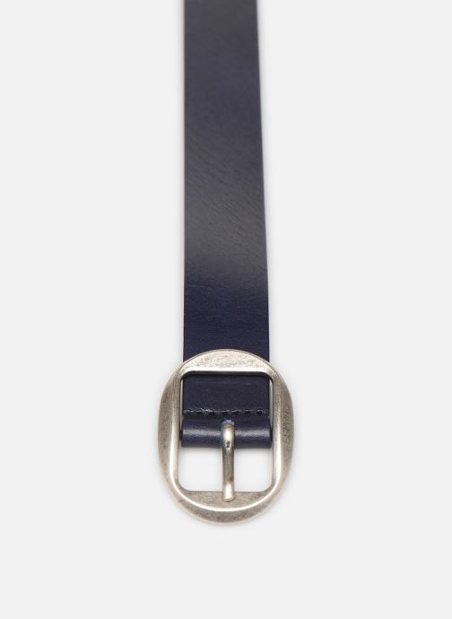 Cinturones Esprit Greta belt Belts leather Azul vista del modelo