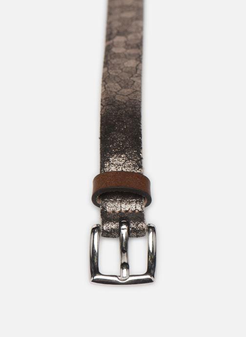 Cinture Esprit Structure mettl Belts leather Oro e bronzo modello indossato
