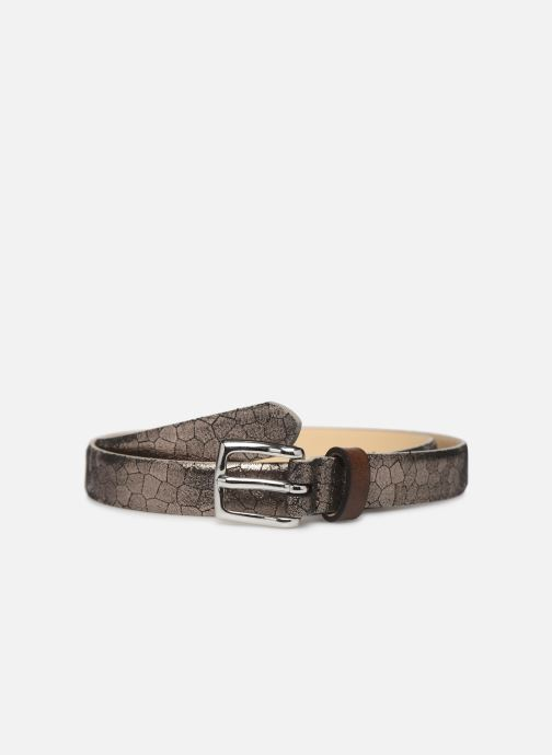 Riemen Esprit Structure mettl Belts leather Goud en brons detail