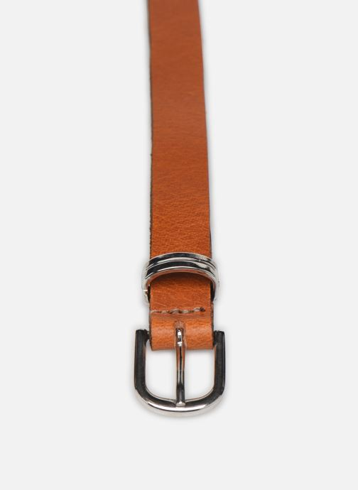 Cinturones Esprit Metal loop belt Belts leather Marrón vista del modelo
