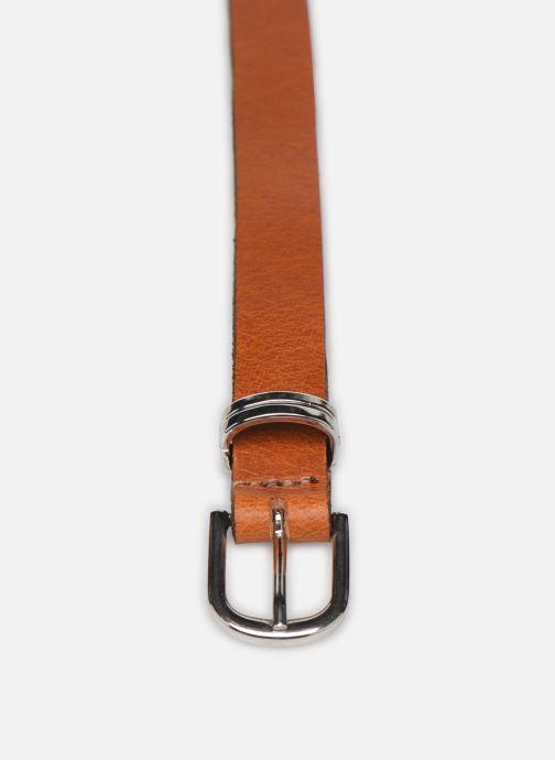 Riemen Esprit Metal loop belt Belts leather Bruin model
