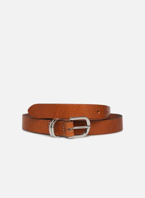Riemen Esprit Metal loop belt Belts leather Bruin detail