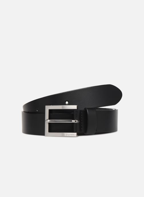 Cinturones Esprit Olaf Belt Belts leather Negro vista de detalle / par