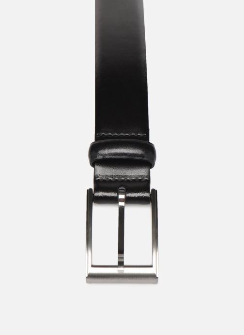 Ceintures Esprit Paul belt Belts leather Noir vue portées chaussures