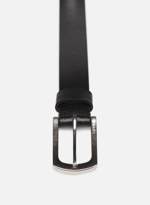 Ceintures Esprit Dave belt Belts leather Noir vue portées chaussures