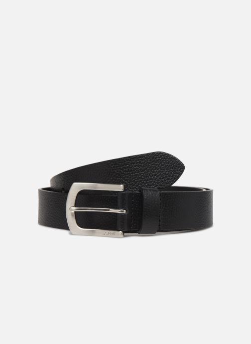 Cinturones Esprit Dave belt Belts leather Negro vista de detalle / par