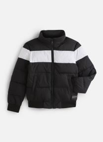 Colour Block Puffer Bomber