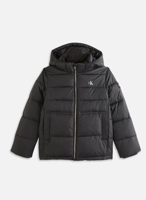 Vêtements Calvin Klein Essential Puffer Jacket Noir vue détail/paire