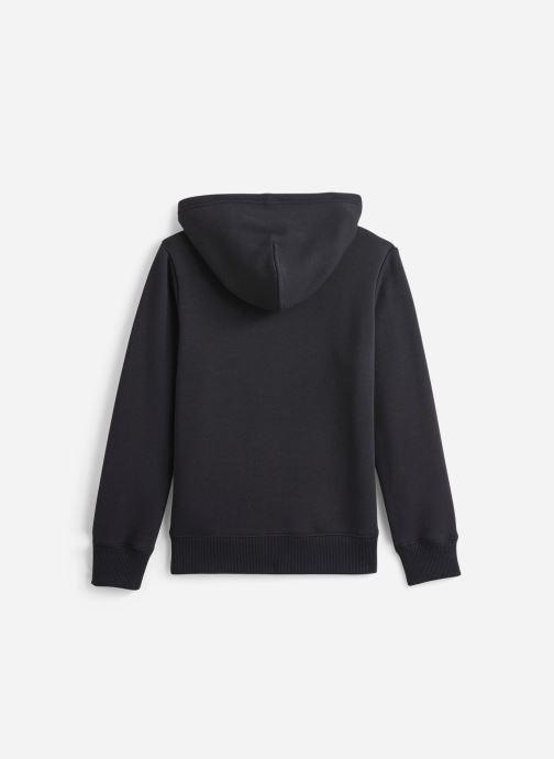 Vêtements Calvin Klein Soft Logo Zip Noir vue bas / vue portée sac