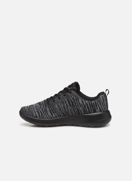 Chaussures de sport Skechers Go Walk Joy/Rapture Noir vue face