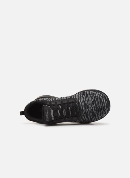 Chaussures de sport Skechers Go Walk Joy/Rapture Noir vue gauche