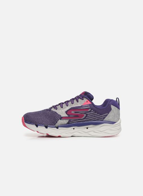 Chaussures de sport Skechers Go Run Max Road 3 Violet vue face