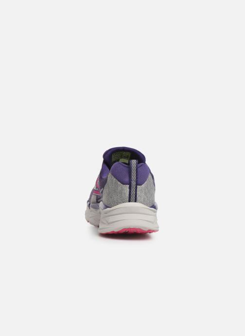 Chaussures de sport Skechers Go Run Max Road 3 Violet vue droite