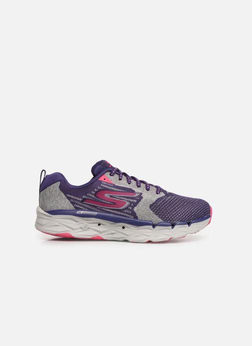 Chaussures de sport Skechers Go Run Max Road 3 Violet vue derrière