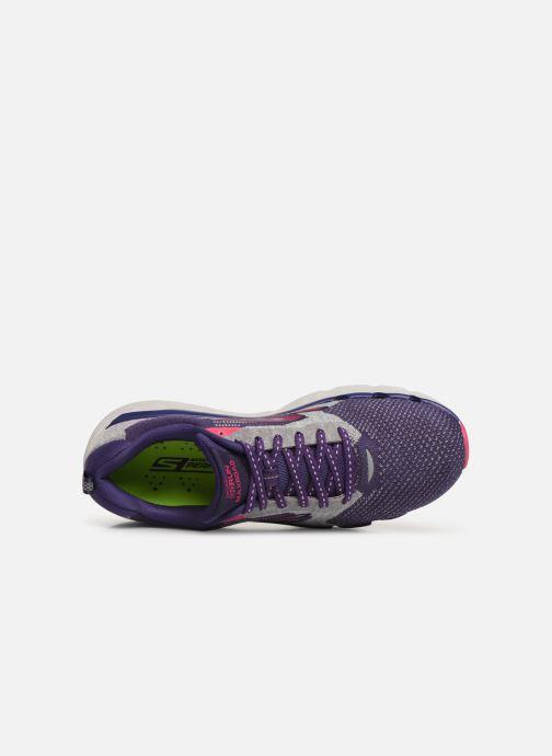Chaussures de sport Skechers Go Run Max Road 3 Violet vue gauche