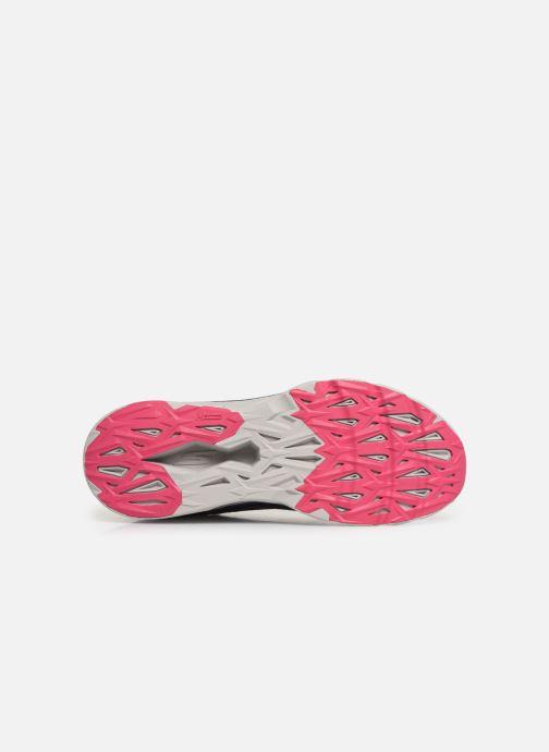 Chaussures de sport Skechers Go Run Max Road 3 Violet vue haut