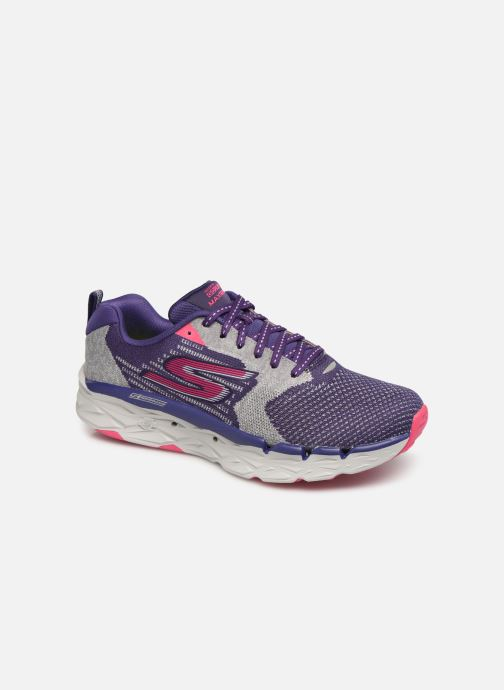 Sport shoes Skechers Go Run Max Road 3 Purple detailed view/ Pair view