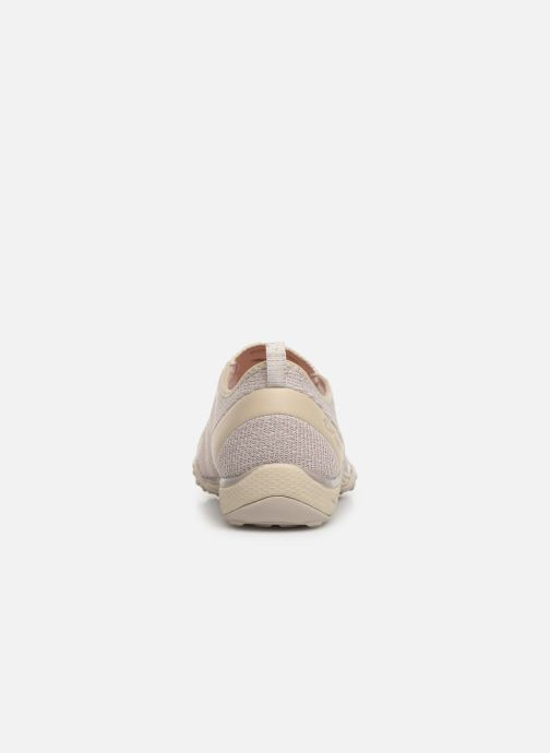 Sneakers Skechers Breathe-Easy Beige rechts